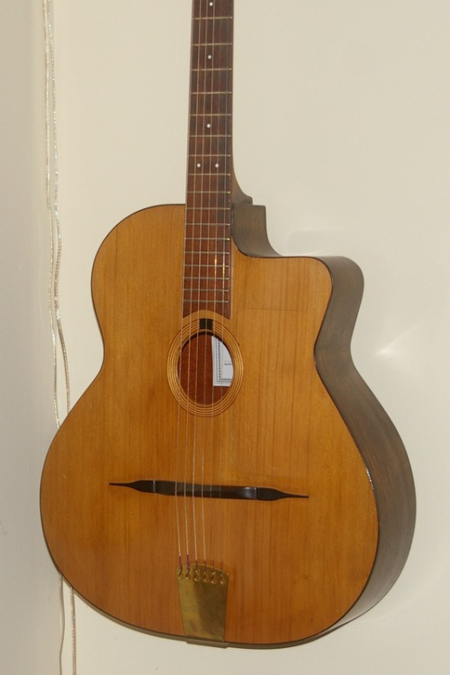 another Selmer style - cedar & mahogany - 2002