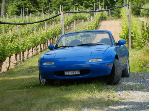 1990 Mazda Miata - the first production year