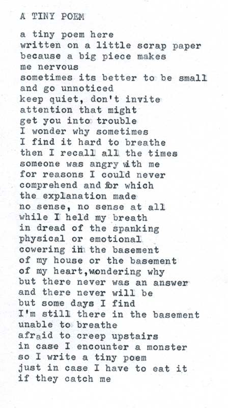 tiny poem