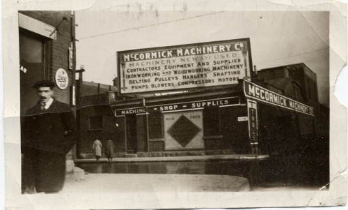 McCormick sold this business to my father