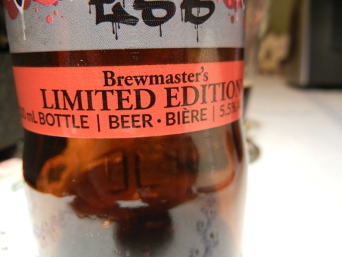 limited edition beer