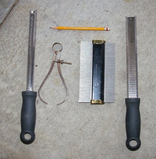 essential neck carving tools