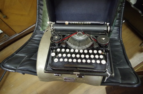 3 bank portable Underwood