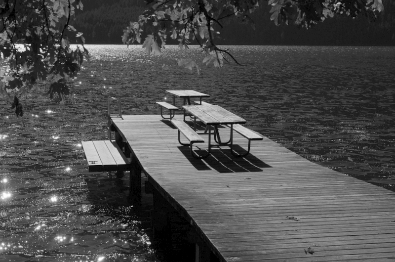 dock - Lake Crescent