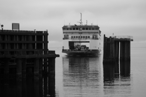 Washington State ferry boat - Salish