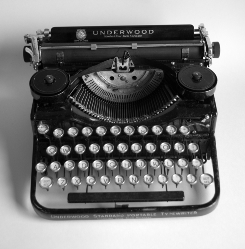 Underwood Standard Four Bank Portable c. 1928