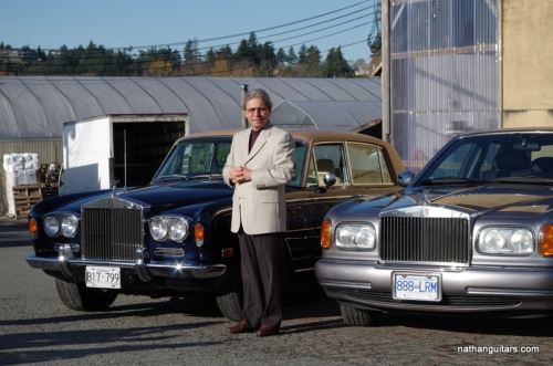 Joey Scarfone - host of Vintage Cars of Victoria