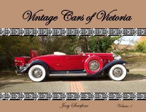 VINTAGE CARS VIC_COVER PAGE