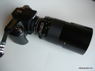 camera with 1000mm lens