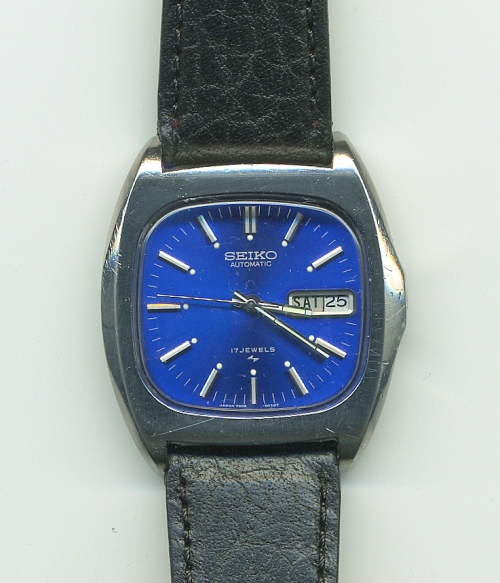 Seiko 7006-5019 blue face
