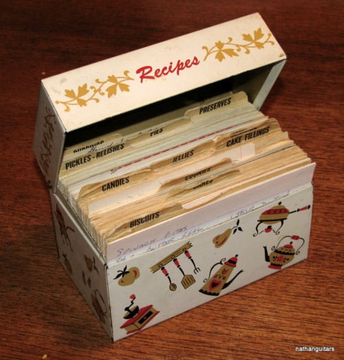 ye olde recipe boxe