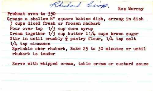 rhubarb-crisp
